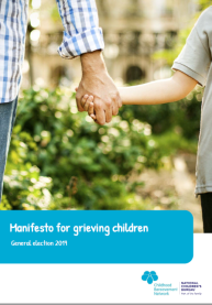 Manifesto for Grieving Children front cover