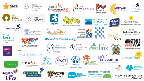 Logos of signatory organisations